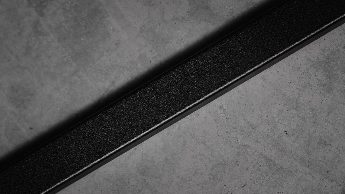 Smidesräcke i aluminium - detalj